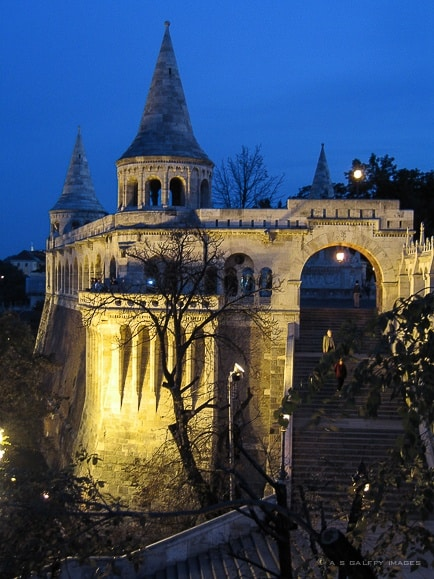 Night View of the Fisherman's Bastion