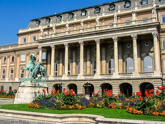 National Gallery in the Buda Castle