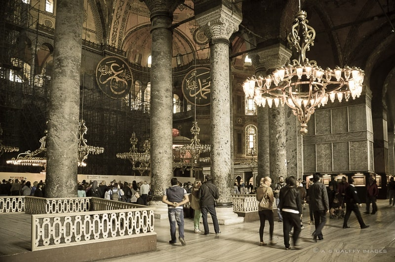 Hagia Sophia, a controversial monument