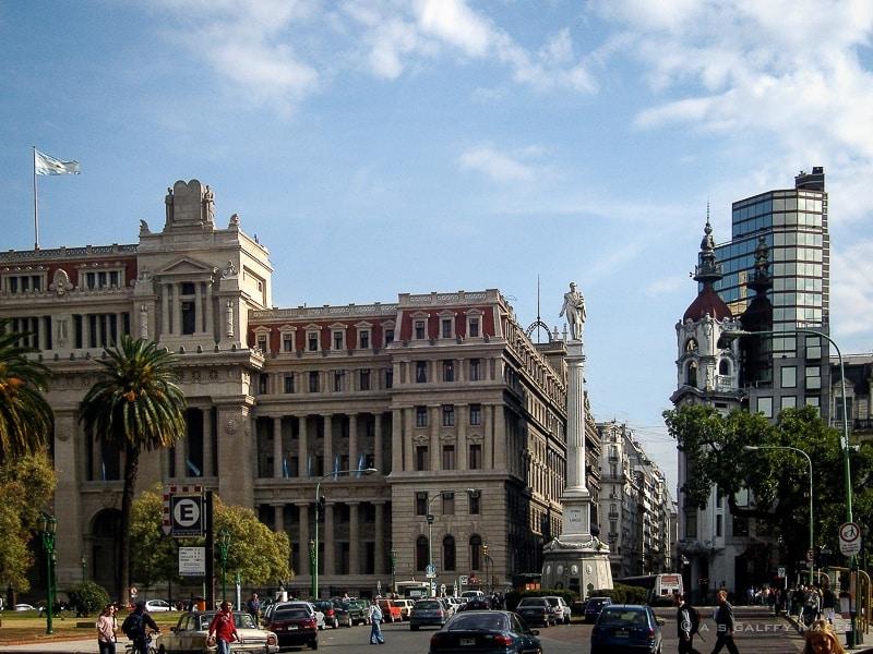 Building Façades in Buenos Aires