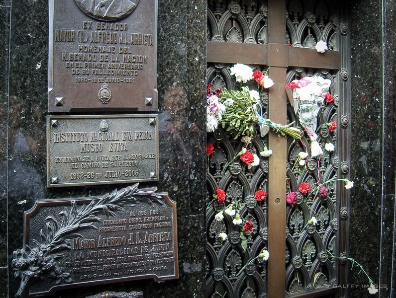 Eva (Evita) Duarte Perón's Tomb
