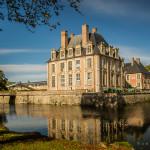 Châteaux of the Loire: La Ferté Saint-Aubin