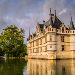 The Weekly Postcard: Château d'Azay-le-Rideau