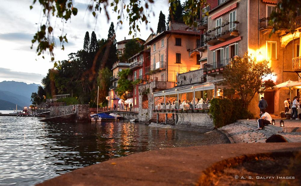 Lake Como Restaurants With A View