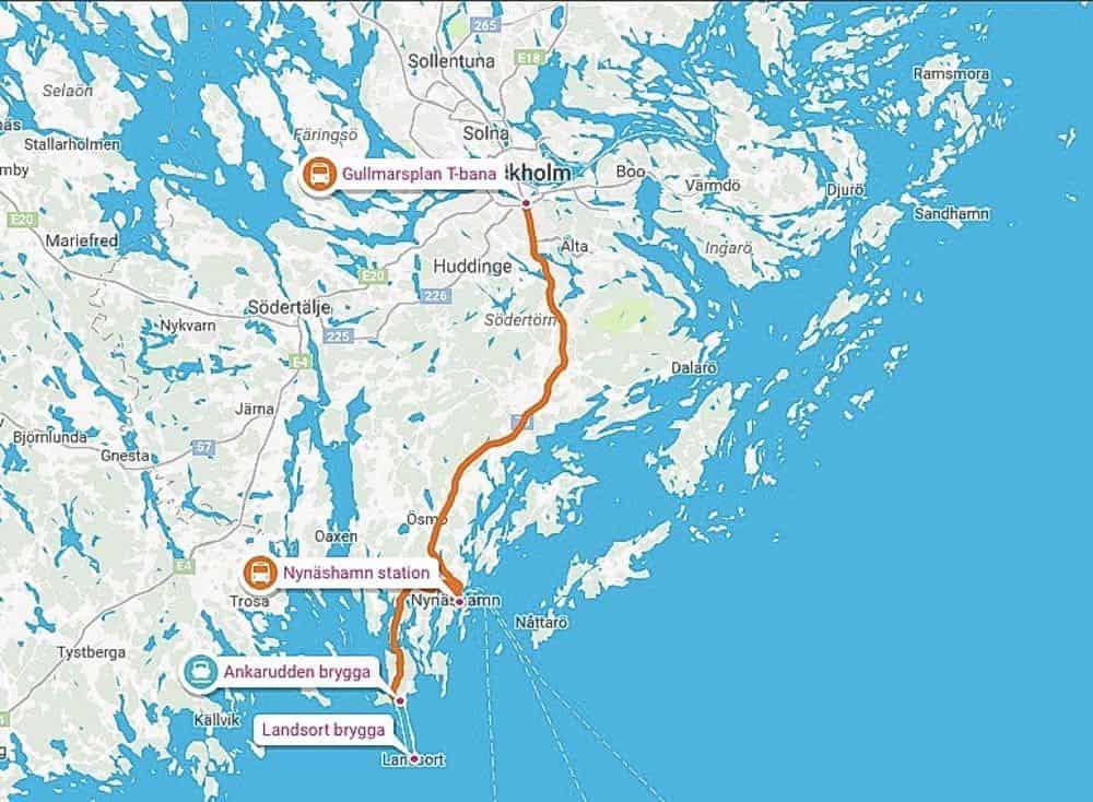 landsort-map